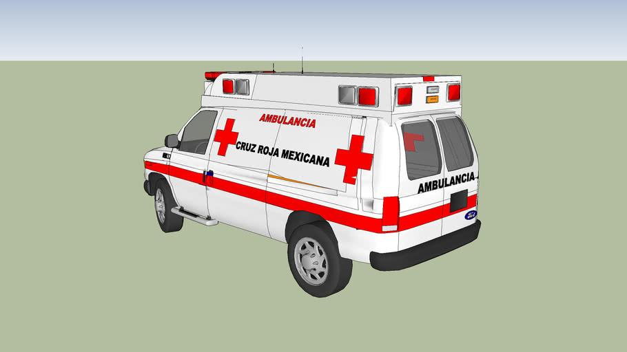 ambulancia de la cruz roja mexicana delegacion de ciudad guzman jalisco
