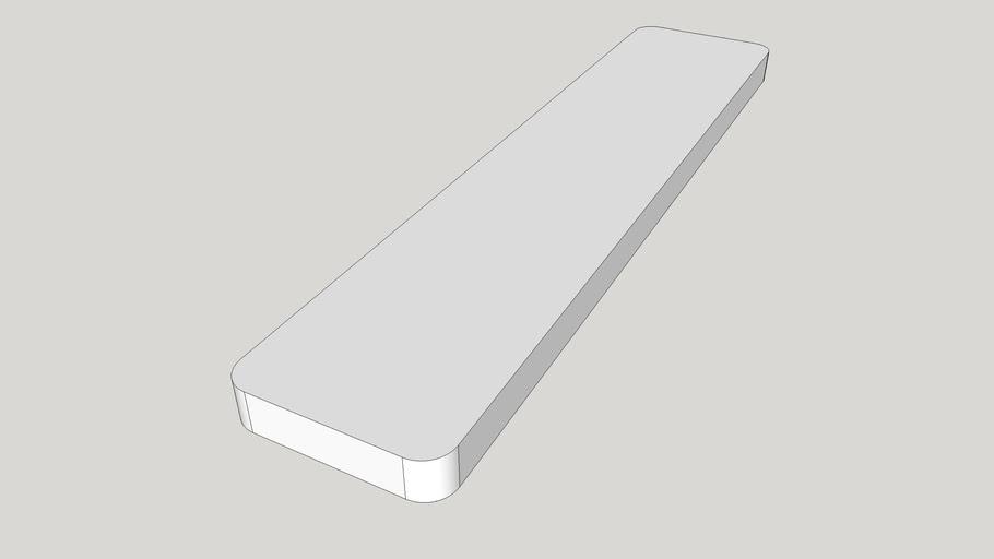 board 640x140x30mm