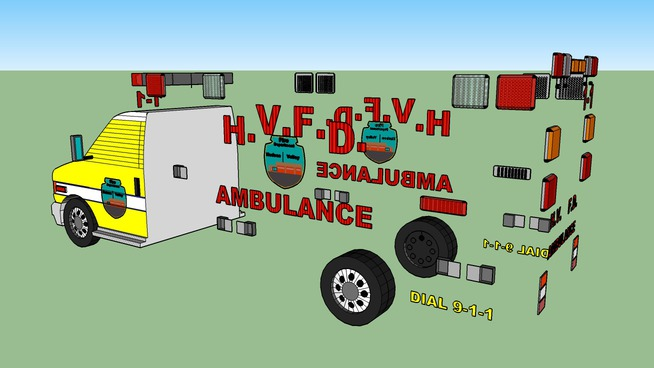 H.V.F.D Medic 1