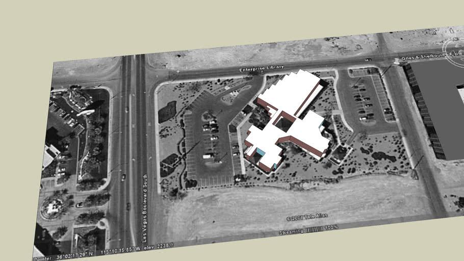 Giles & Shelbourne Enterprise Library Las Vegas