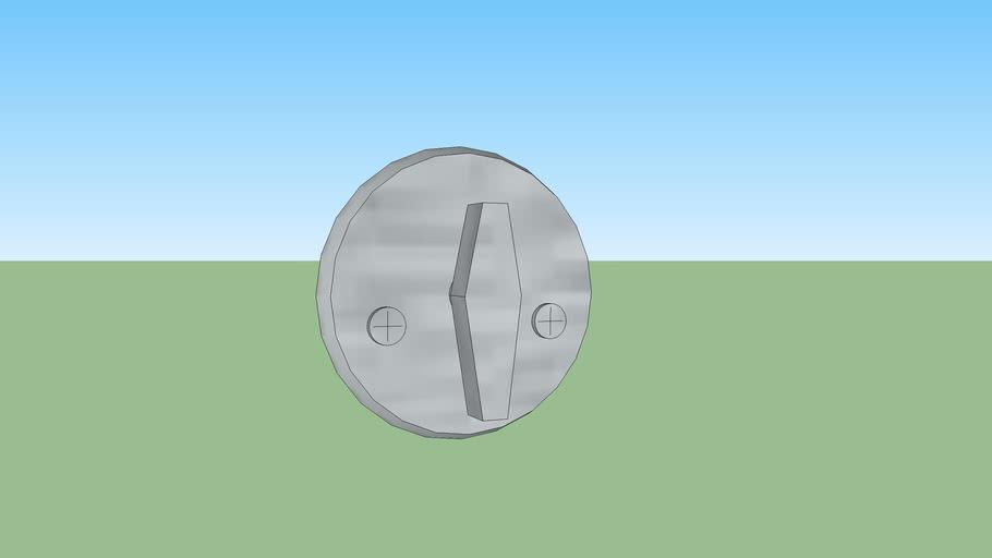 Weiser GD9471 latch deadbolt