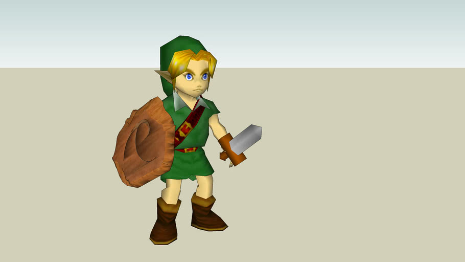 Ocarina of Time Young Link