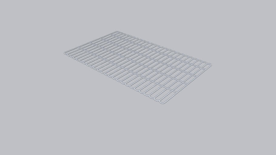 BBQ grill component