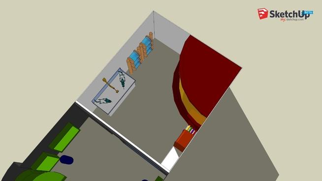 Ship Apart Interior