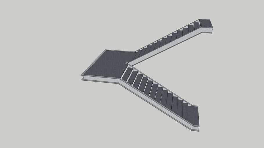 Stair_metal_dogleg