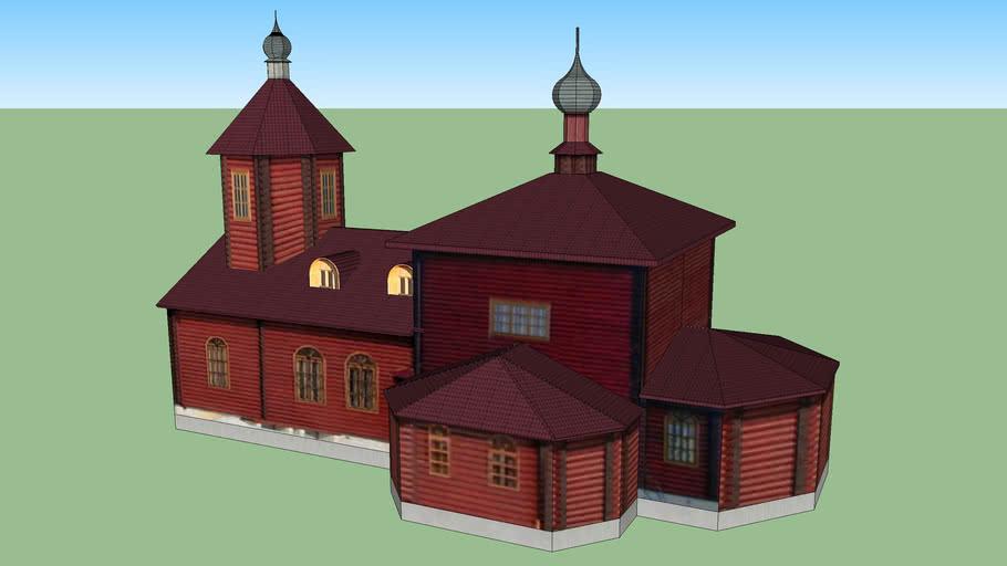 Церковь Александра Невского в Вязьме-Брянской