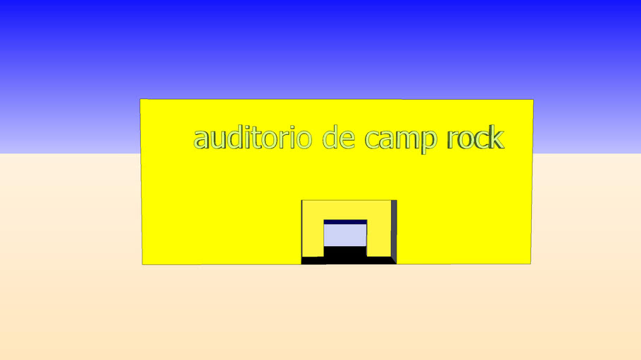 auditorio de camp rock