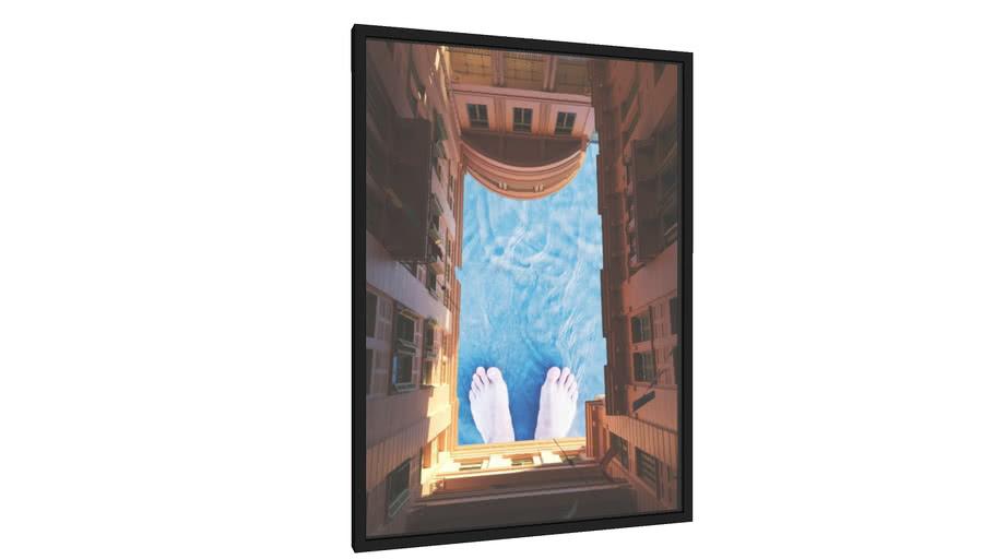 Quadro Pés no céu - Galeria9, por Gabriel Fragoso