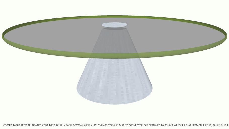 Cone Gl Designed By John A Weick Ra
