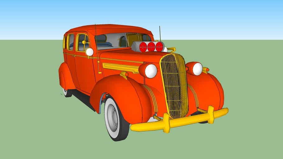 1936 buick roadster