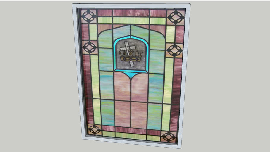 Stained Glass Window #03