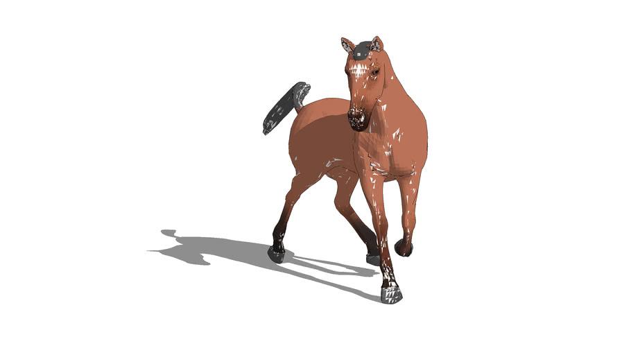 Horse. Turning