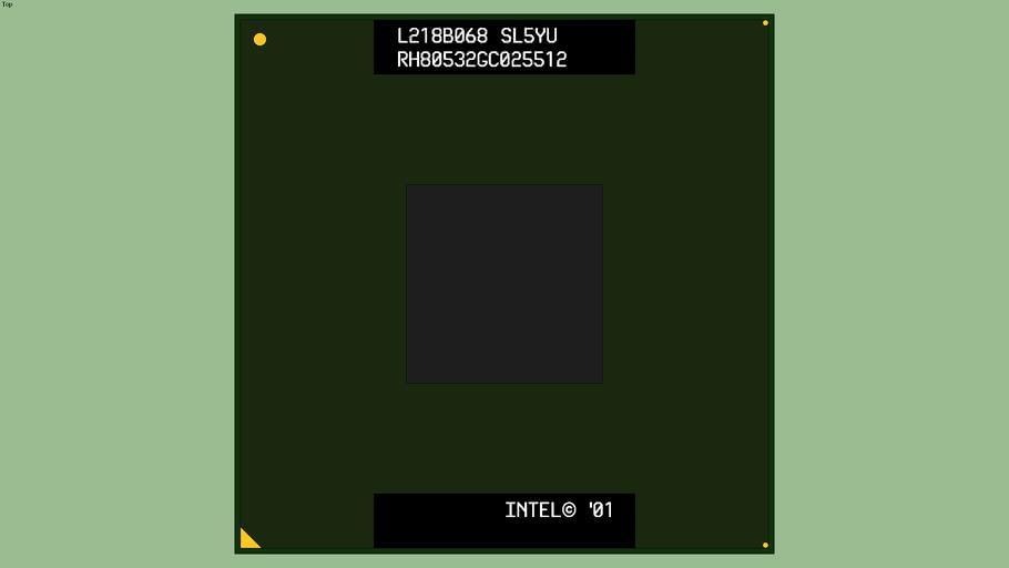 Intel® Mobile Pentium® 4-M (SL5YU)