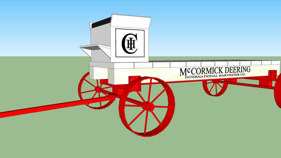 International harvester McCormick Deering cart