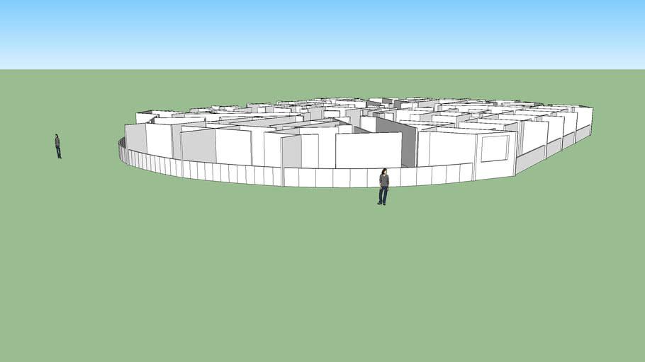 تقسيمة عمارة سكنية