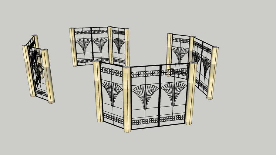 ballroom grill screens