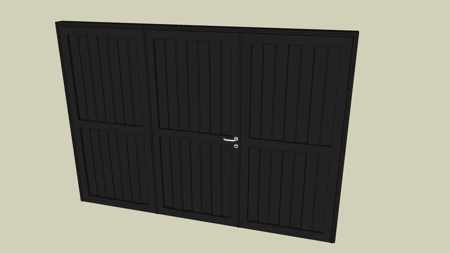 Steel Garage door / Porton cochera chapa