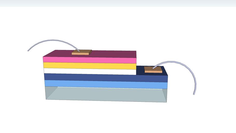 LED 晶粒 结构