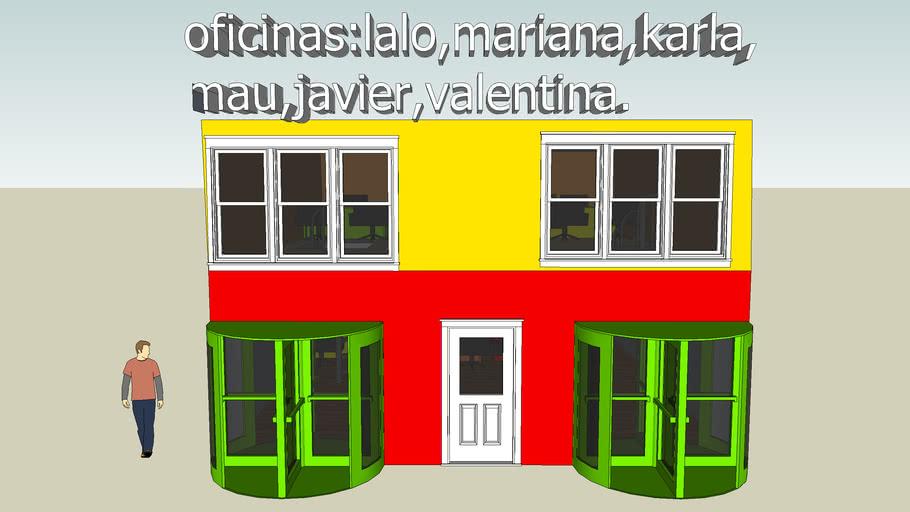 oficinas :lalo, mariana,karla,mau,valentina y Aristoleles.