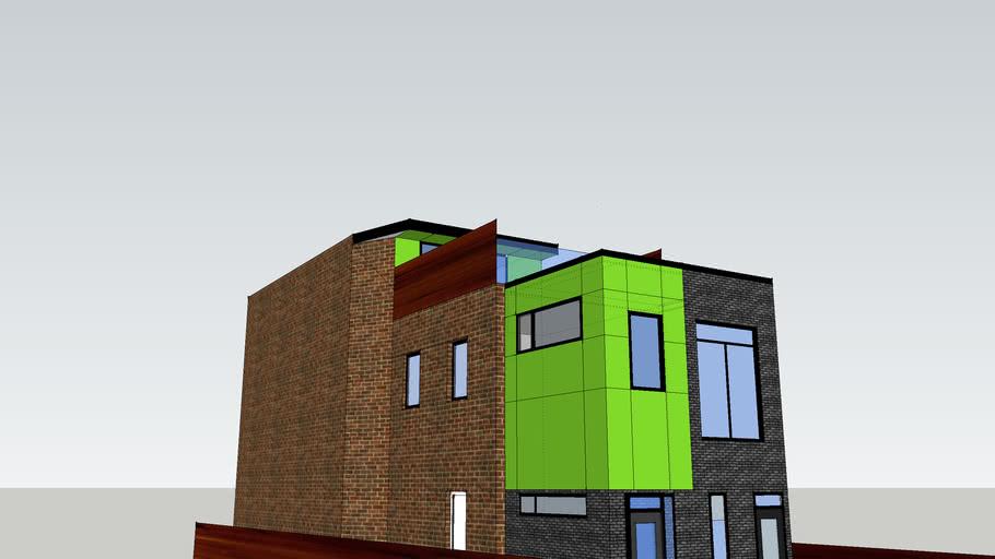 John Henriques - 79 Brunswick- changes for permits - Trespa panels