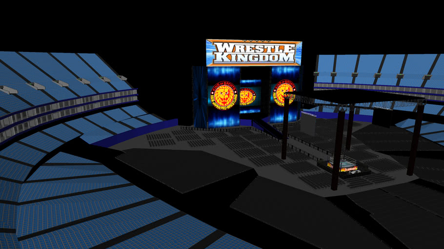 NJPW WrestleKingdom Set at Tokyo Dome