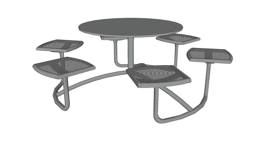 Mingle 6 Seat Table