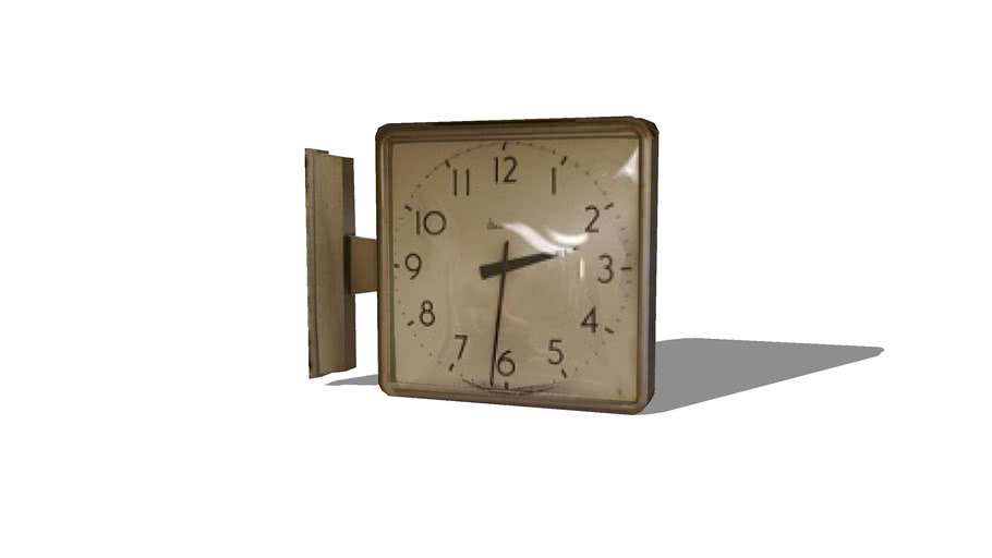 Vintage High School Wall Clock