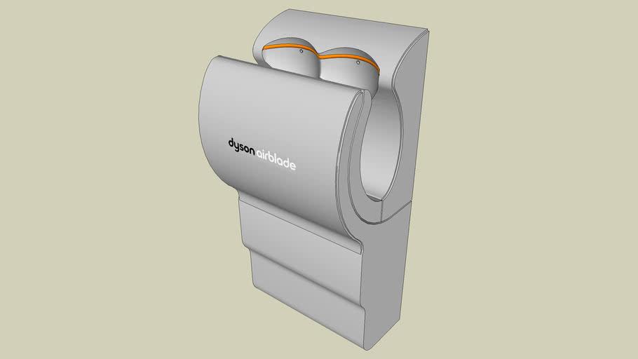 01  AB02 - 120 V Dyson Airblade™ Hand Dryer