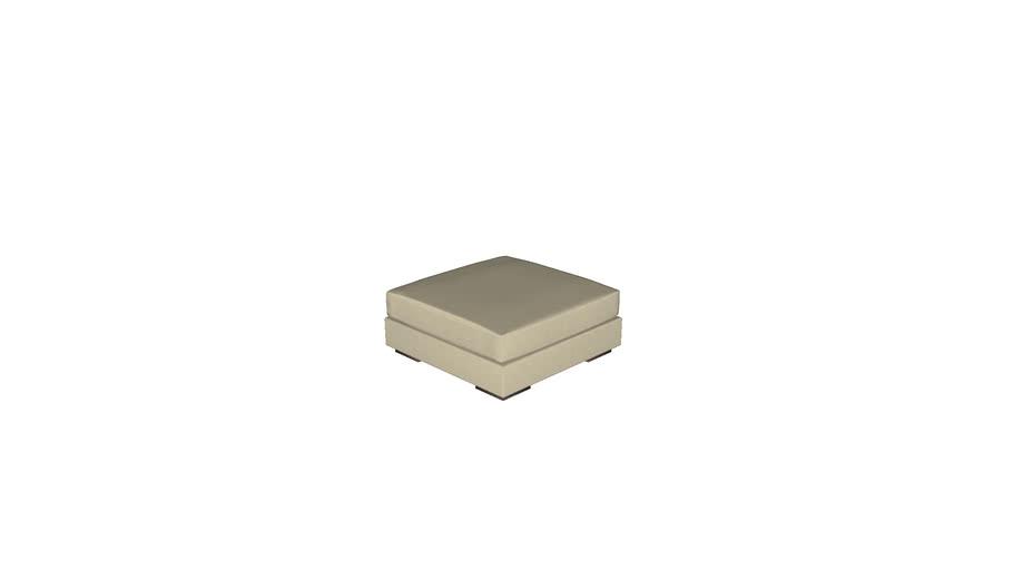 Florense Modula Space - Puff Quadrado c/ Almofada 940x390x940
