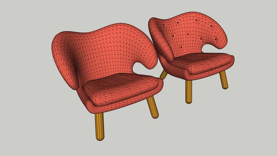 Pelican armchair