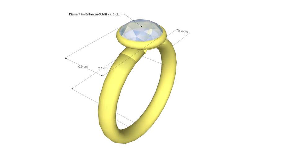 Solitair-Ring