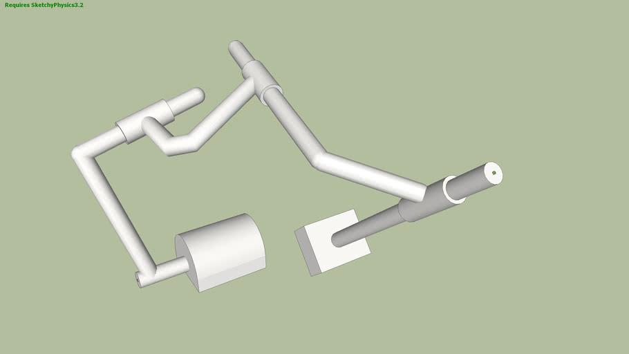4-bar Space Mechanism (R-C-C-C)