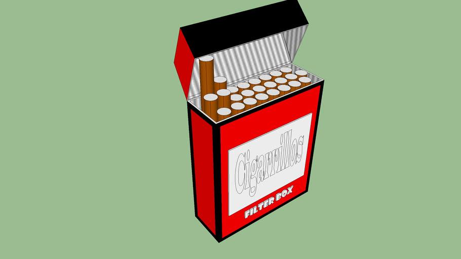 carteira de cigarros