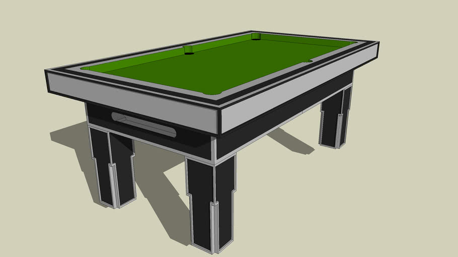 7foot Pool Table By TFG