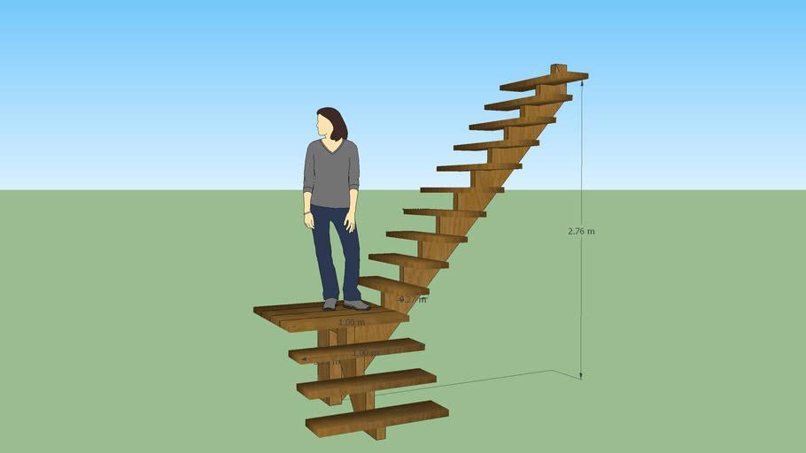 Escada, stair