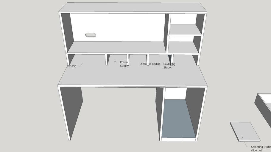 Ham Radio Desk