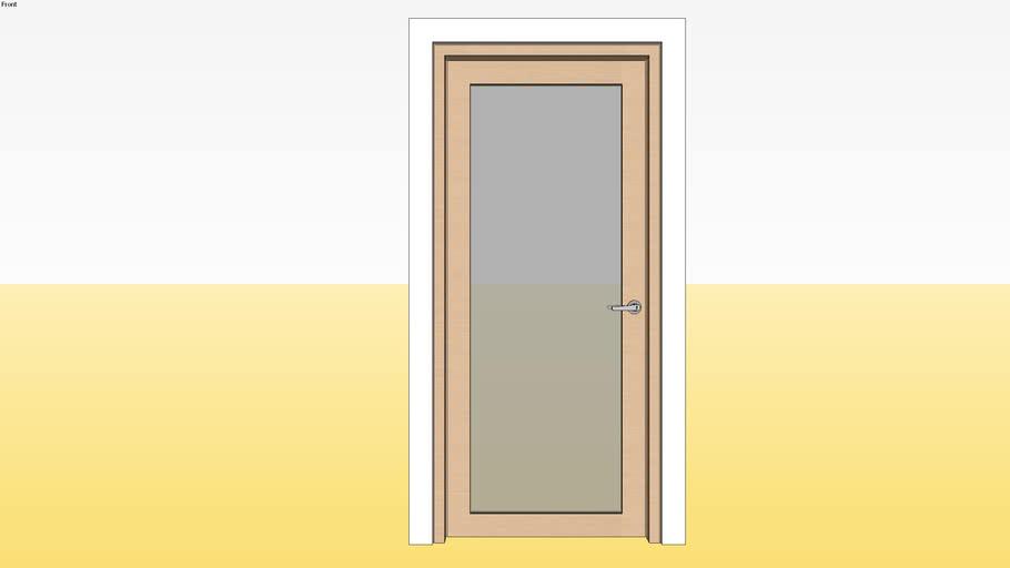 Panel Glass Door D2 900 x 2100 Jamb 5