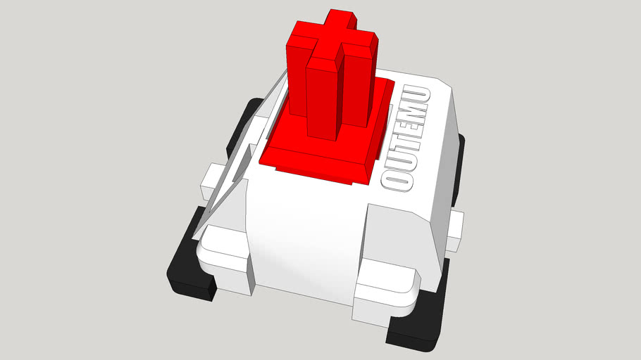 Outemu Red Mechanical Switches