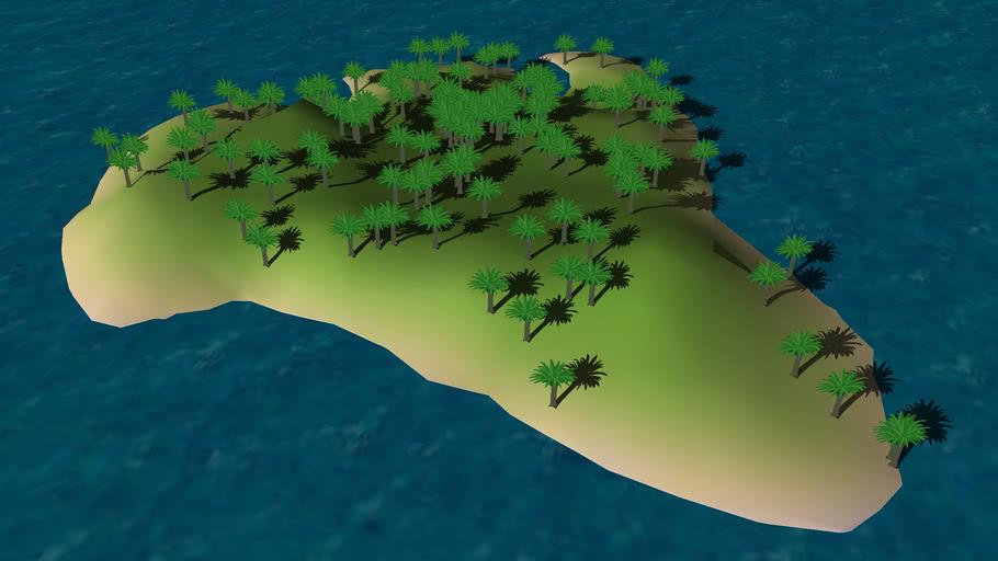 Island Terrain #6