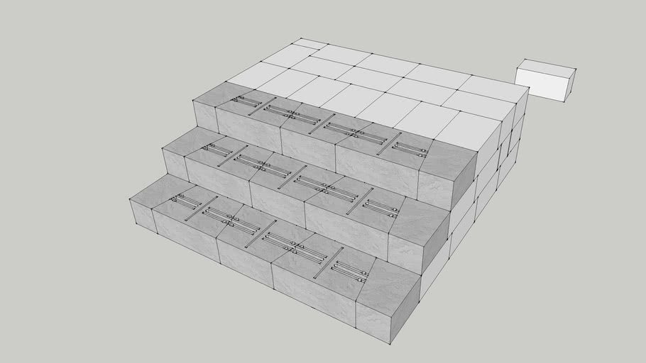 Stretcher Blind Side wall steps