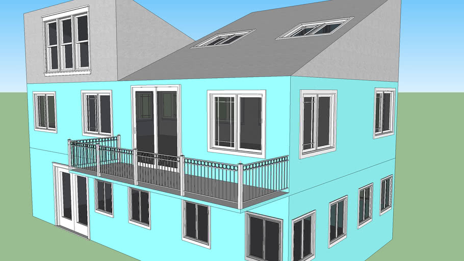 Blue Cool House