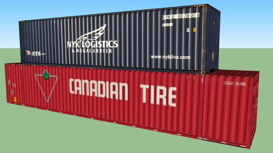 Container Double Stack