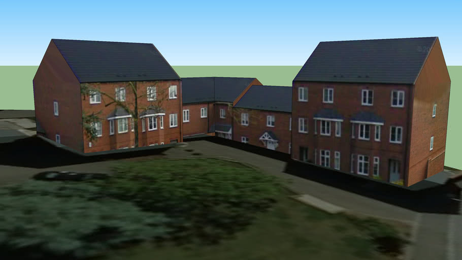 Housing in St Crispins, Northampton