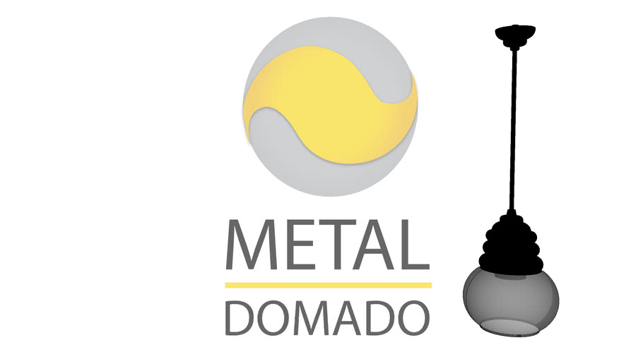 Metal Domado | Pendente Orvieto