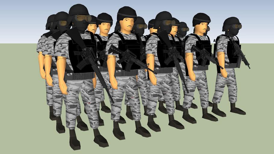 grupo lobo policia de guadalajara jalisco mexico ssc