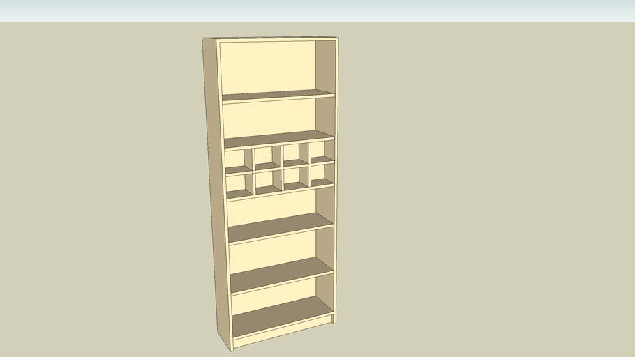 Ikea Billy Module 3d Warehouse