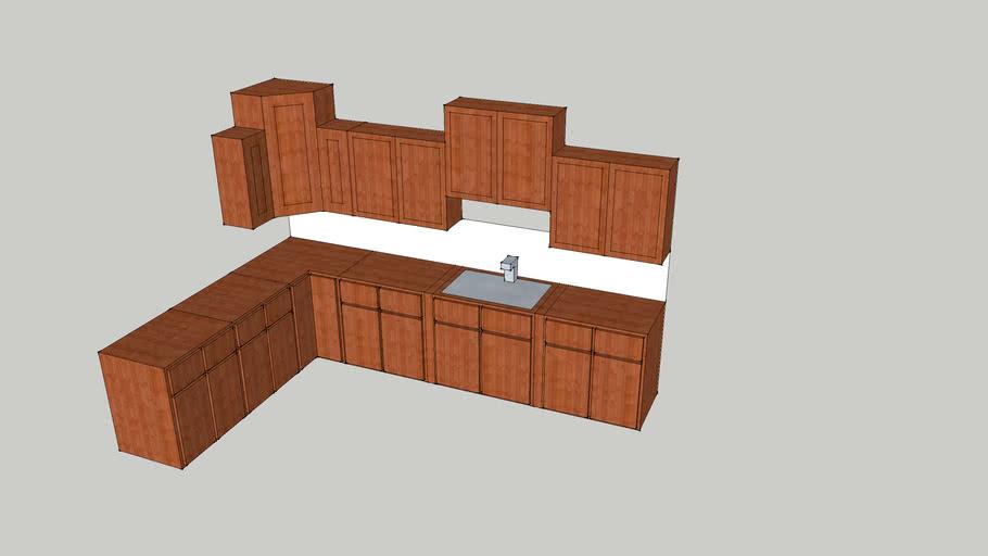 mohagony cabinets