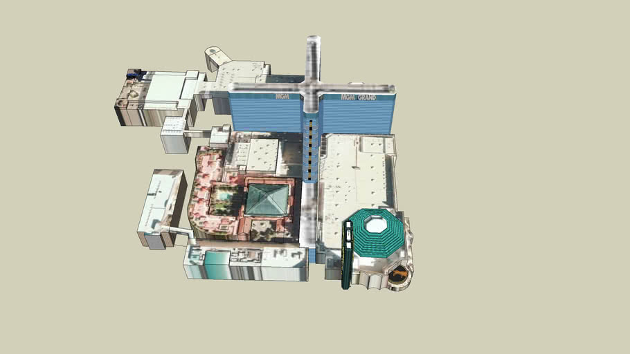 MGM Grand complete layout