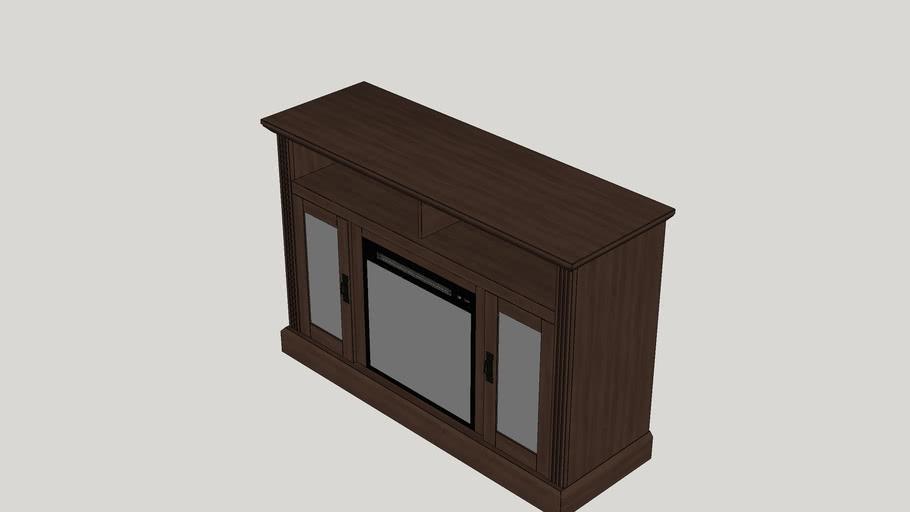 Cristemas Fireplace TV Console