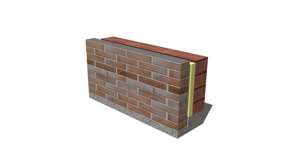 Bk 1 gevelsteen ( facadesteen )